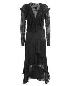 Preen | Dress With Sheer Inserts Gr. M