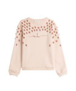 Marina Hoermanseder | Embellished Cotton Sweatshirt Gr. De L