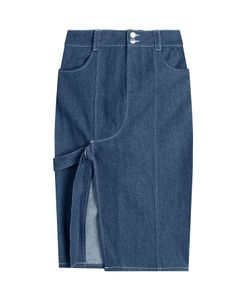 Sandy Liang | Denim Skirt With Cut-Out Front Gr. Fr 38