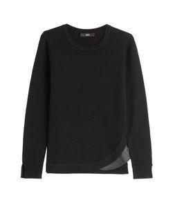 Steffen Schraut | Merino Wool Pullover With Pleated Insert Gr. De 32