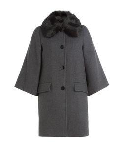 Steffen Schraut | Coat With Fur Collar Gr. De 36