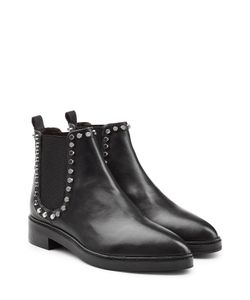 Steffen Schraut | Leather Chelsea Boots With Studded Trim Gr. It 39
