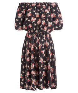 Warm | Printed Silk Dress Gr. 3