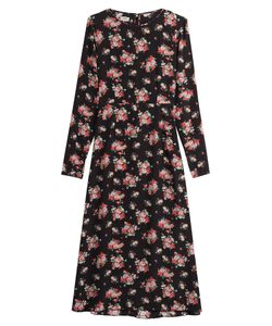 Warm | Printed Silk Dress Gr. 1
