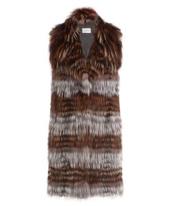 Yves Salomon | Fox Fur Vest Gr. Fr 36