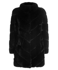 Yves Salomon | Rabbit Fur Coat Gr. Fr 36