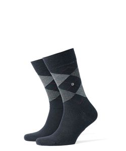 Burlington | Printed Virgin Wool Ankle Socks Gr. 40-46