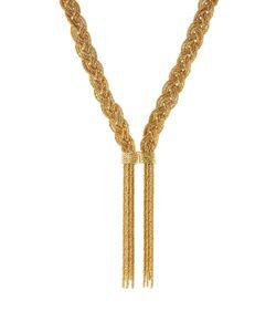 Aurelie Bidermann   Miki 18kt Yellowplated Necklace Gr. One