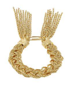 Aurelie Bidermann   18k Yellowplated Rope Bracelet Gr. One
