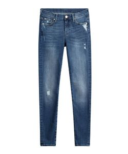7 for all mankind | Distressed Skinny Jeans Gr. 26