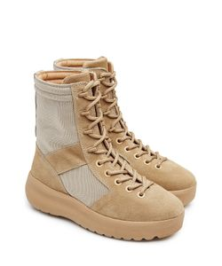 YEEZY | Suede Boots With Mesh Gr. Eu 41