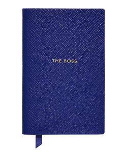 Smythson | Panama The Boss Leather Notebook Gr. One