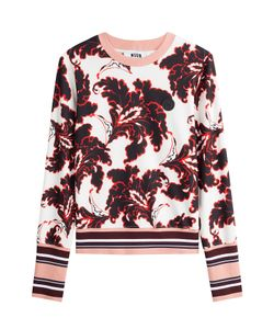 MSGM   Printed Pullover Gr. It 38