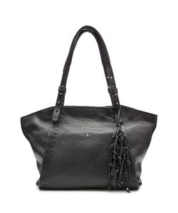 Henry Beguelin | Leather Tote With Knotted Tassel Gr. One