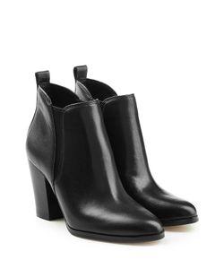 Michael Michael Kors | Leather Ankle Boots Gr. Us 9