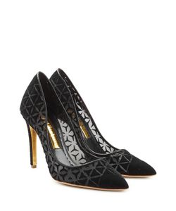 Rupert Sanderson | Solita Pumps With Velvet Gr. Eu 40