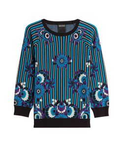 Anna Sui | Printed Cotton Pullover Gr. Xs/S