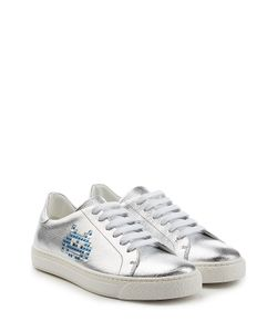 Anya Hindmarch | Space Invader Leather Sneakers Gr. Eu 41