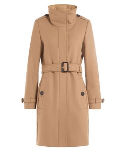 Burberry London | Wool Blend Coat With Cashmere Gr. Uk 6