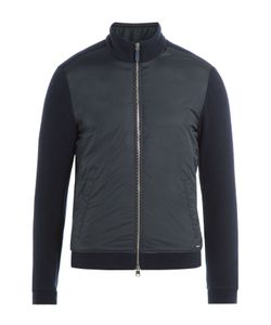 Woolrich | Zipped Jacket With Wool And Cotton Gr. L