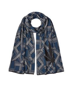 Lucien Pellat-Finet | Printed Cotton Scarf With Cashmere Gr. One