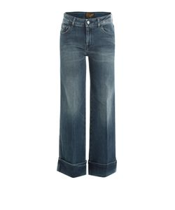Seafarer | Wide Leg Jeans With Cropped Ankle Gr. 28