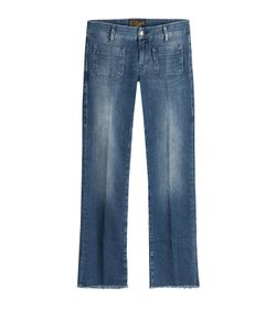 Seafarer | Cropped And Flared Jeans Gr. 31