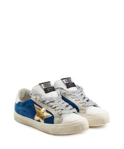 Golden Goose | Super Star Leather And Suede Sneakers Gr. Eu 38