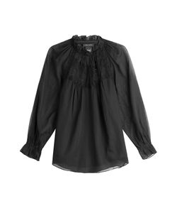 Marc Jacobs | Cotton Blouse With Lace Gr. Us 0