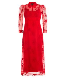 Simone Rocha | Dress With Sheer Overlay Gr. Uk 6