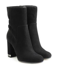 Michael Michael Kors | Suede Boots With Chainlink Heel Gr. Us 6