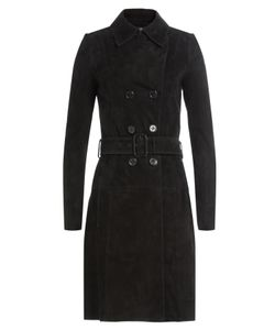 Jitrois | Suede Trench Coat Gr. Fr 40