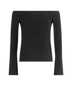Roland Mouret | Off-The Shoulder Top With Ruffles Gr. Uk 8
