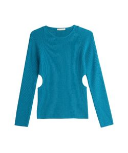 Emilia Wickstead | Wool Pullover With Cut-Out Sides Gr. M