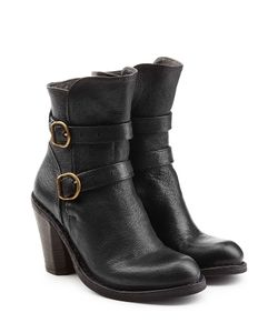Fiorentini+Baker | Leather Double Strap Ankle Boots Gr. It 40
