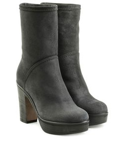Fiorentini+Baker | Suede Ankle Boots With Platform Gr. It 41