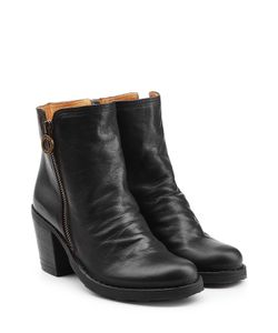 Fiorentini+Baker | Leather Ankle Boots With Zip Gr. It 42