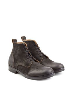 Fiorentini+Baker | Distressed Suede Lace-Up Boots Gr. Eu 46