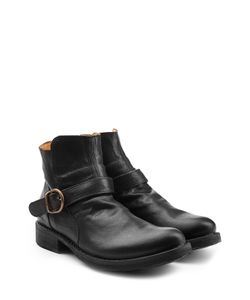 Fiorentini+Baker | Leather Buckle Strap Ankle Boots Gr. Eu 41
