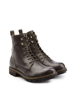 Fiorentini+Baker | Lace-Up Leather Boots Gr. Eu 40