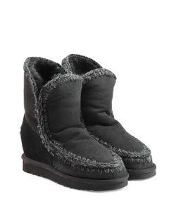 Mou | Eskimo Wedge Short Sheepskin Boots Gr. Eu 38