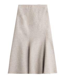 Alberta Ferretti | Wool Skirt With Cashmere Gr. It 44