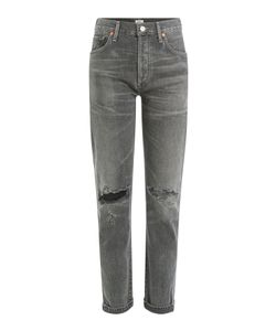 Citizens of Humanity | Distressed High-Waisted Jeans Gr. 27