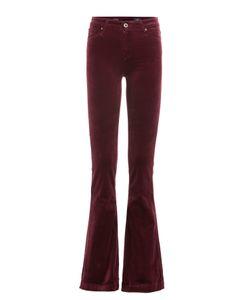 Ag Adriano Goldschmied | Wide Leg Velvet Pants Gr. 31