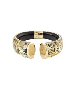 Alexis Bittar   -Plated Cuff With Lucite Gr. One