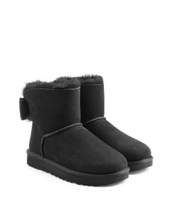 UGG Australia | Mini Bailey Bow Suede Boots Gr. Us 7