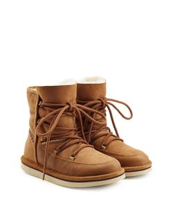 UGG Australia | Lodge Suede Boots With Lace-Up Front Gr. Us 5