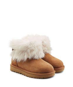 UGG Australia | Suede And Sheepskin Boots Gr. Us 10