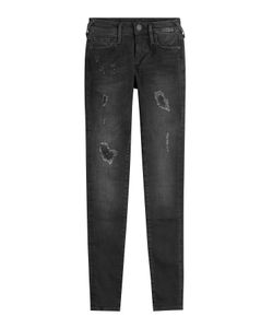 True Religion | Distressed Halle Skinny Jeans Gr. 26