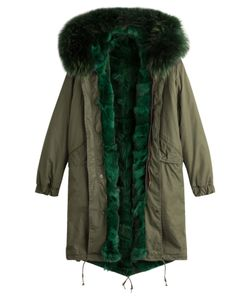 As65 | Parka Coat With Fur Lining Gr. Xs